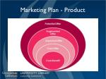 marketing plan product