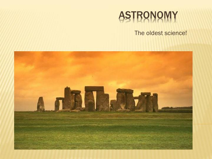 the oldest science n.