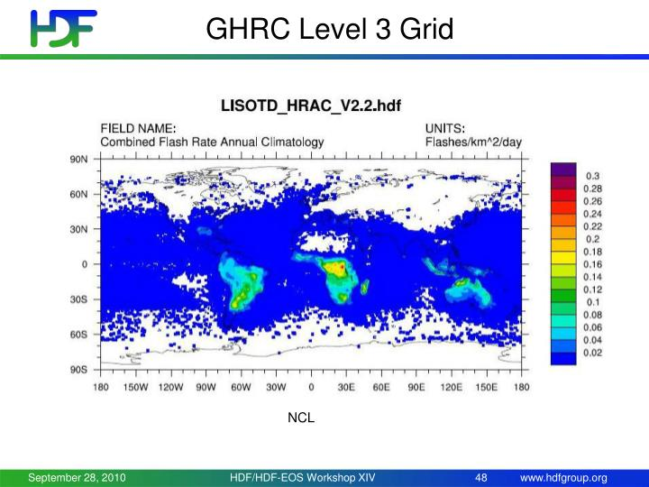 GHRC Level 3 Grid
