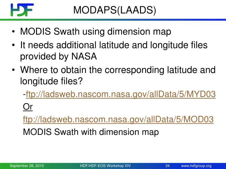 MODAPS(LAADS)