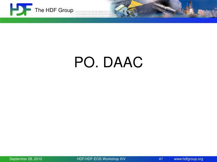 PO. DAAC