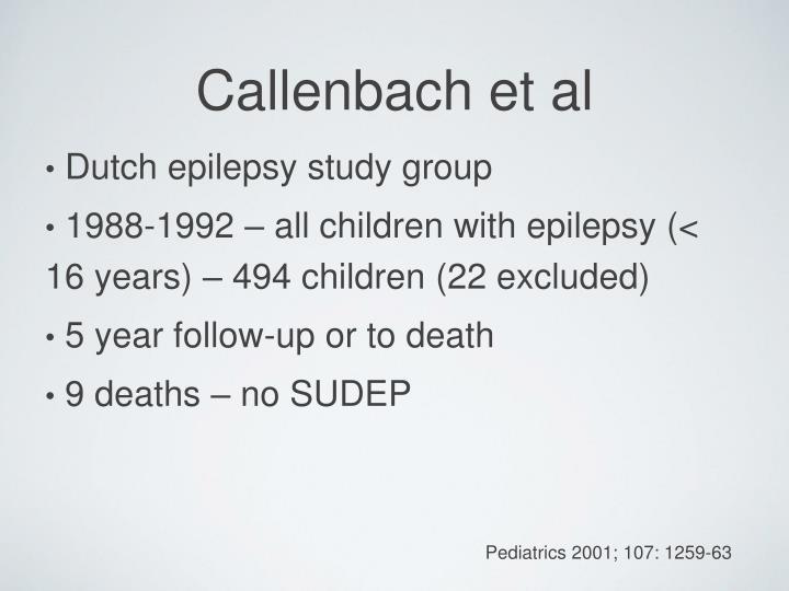 Dutch epilepsy study group