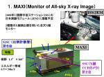 maxi monitor of all sky x ray image
