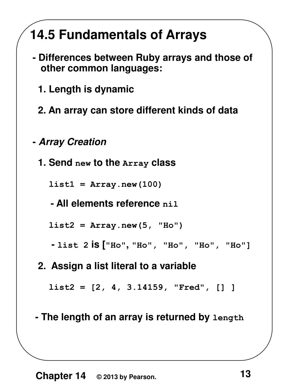 PPT - 14 1 Origins and Uses of Ruby - Designed by Yukihiro