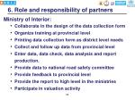 6 role and responsibility of partners
