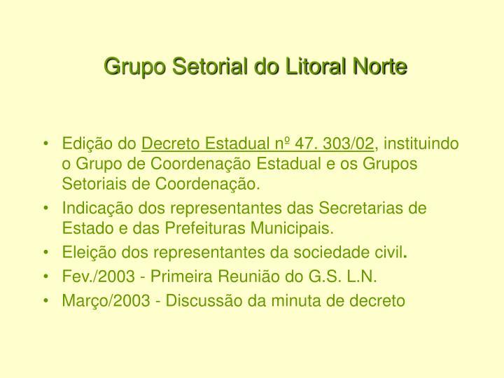 Grupo Setorial do Litoral Norte
