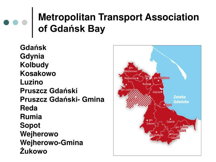 Metropolitan Transport Association of Gdańsk Bay