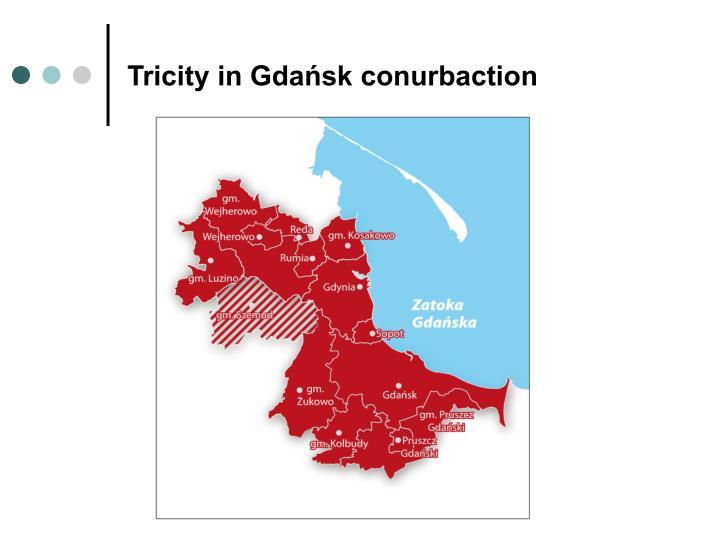Tricity in gda sk conurbaction
