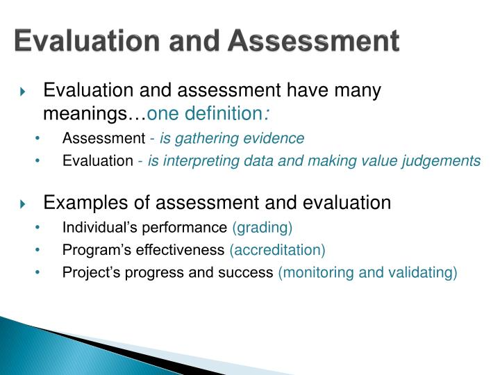 evaluation and judgement What are some of the differences in evaluation between judgment and non-judgment disabilities why does this difference exist, and what could you do to make sure that the difference is.