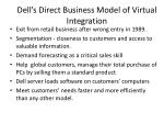 dell s direct business model of virtual integration3