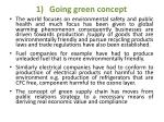 going green concept