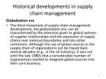 historical developments in supply chain management4