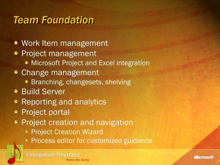 Team Foundation
