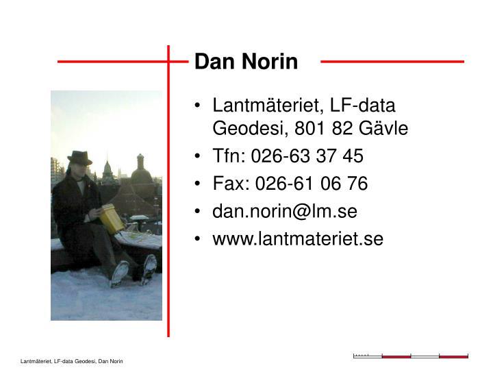 Dan Norin