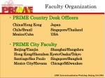 faculty organization