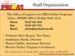 staff organization