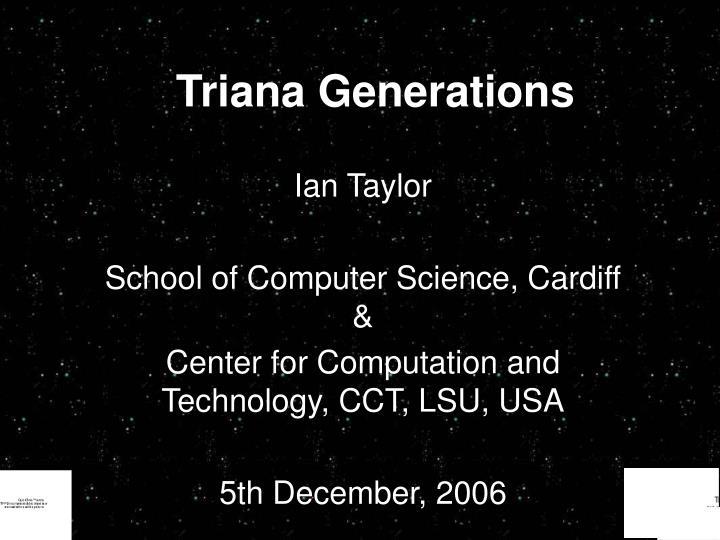 triana generations n.