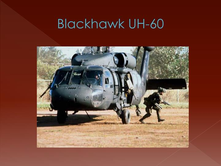 Blackhawk UH-60