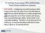 fy 14 state accounting office sao state travel policy guidelines updates6