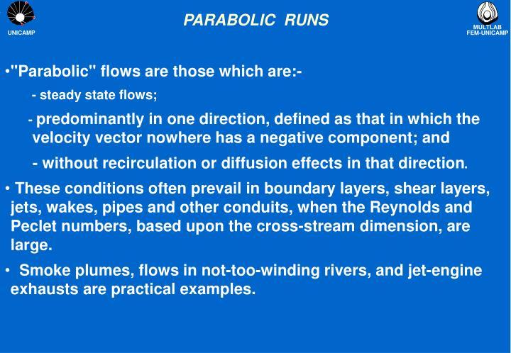 parabolic runs n.