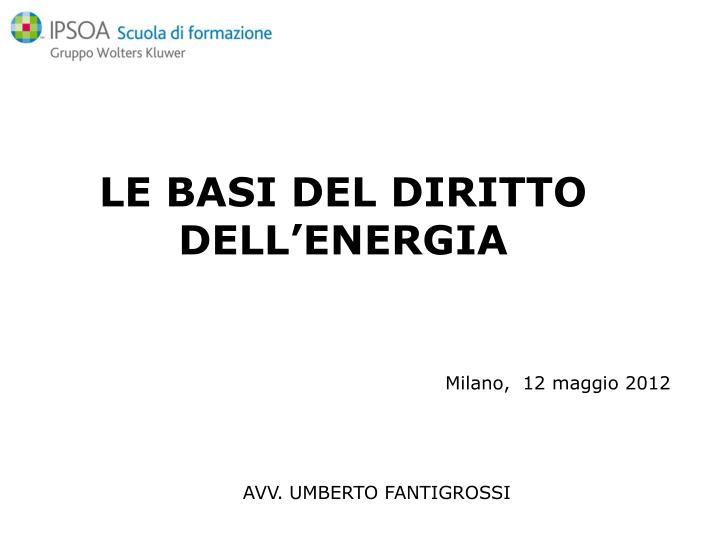 Milano 12 maggio 2012