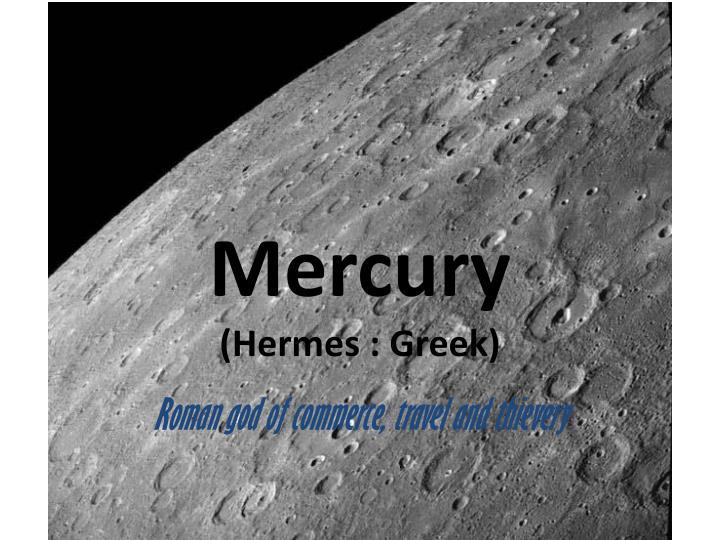 mercury hermes greek n.