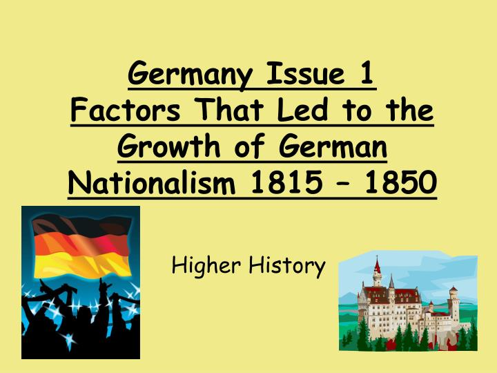 essay germany german