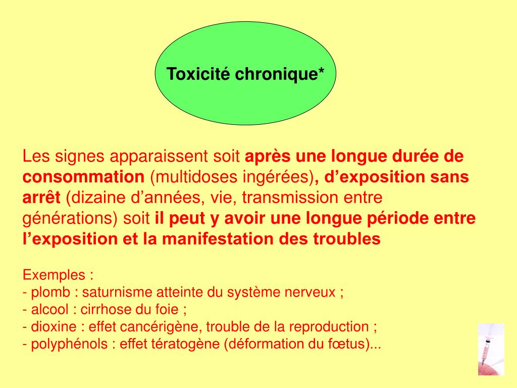 PPT - TOXICOLOGIE PowerPoint Presentation, free download ...