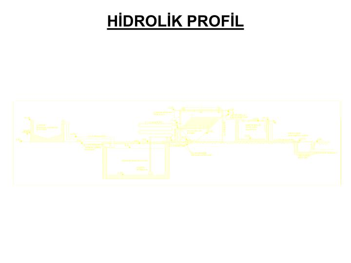 HİDROLİK PROFİL
