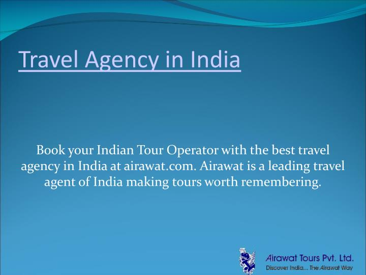 travel agency in india n.