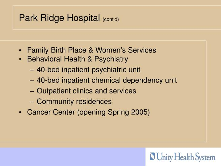 Family Birth Place & Women's Services