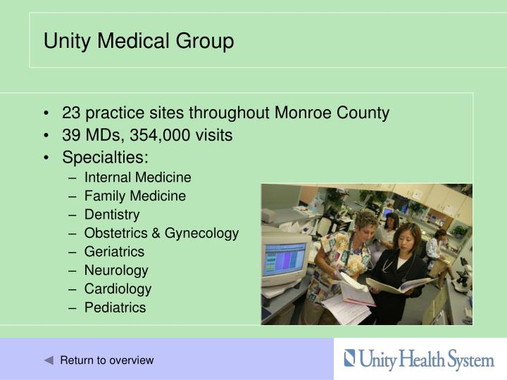 23 practice sites throughout Monroe County