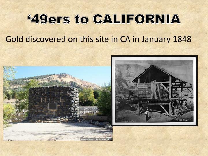 49ers to california