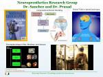 neuroprosthetics research group dr sanchez and dr prasad
