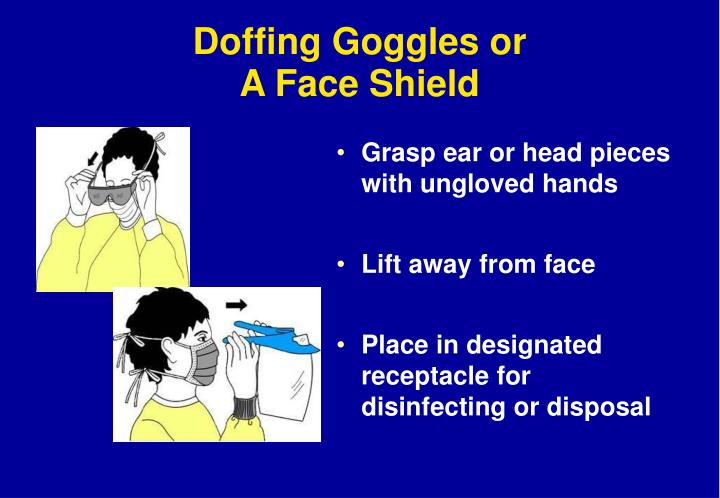 Doffing Goggles or