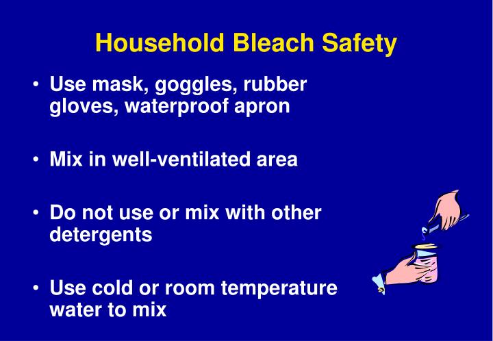 Household Bleach Safety