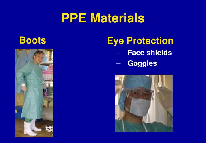 PPE Materials