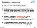 quadrabotz programming