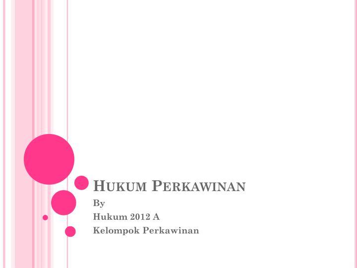 PPT - Hukum Perkawinan PowerPoint Presentation - ID:3584205