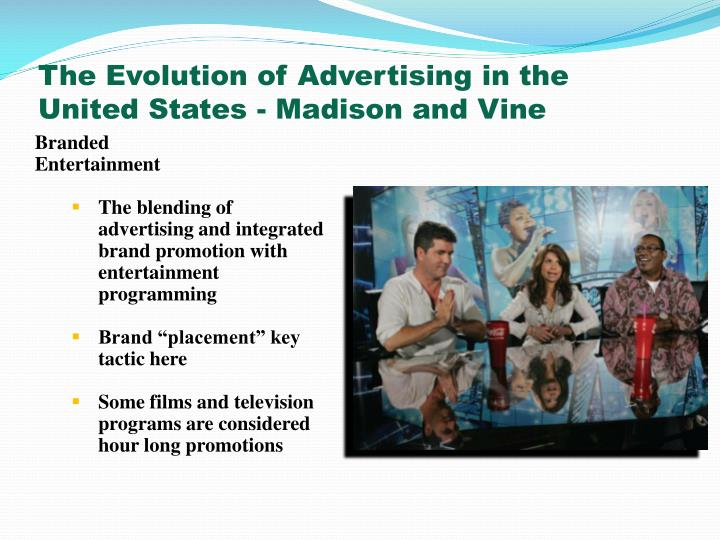 The Evolution of Advertising in the United States - Madison and Vine