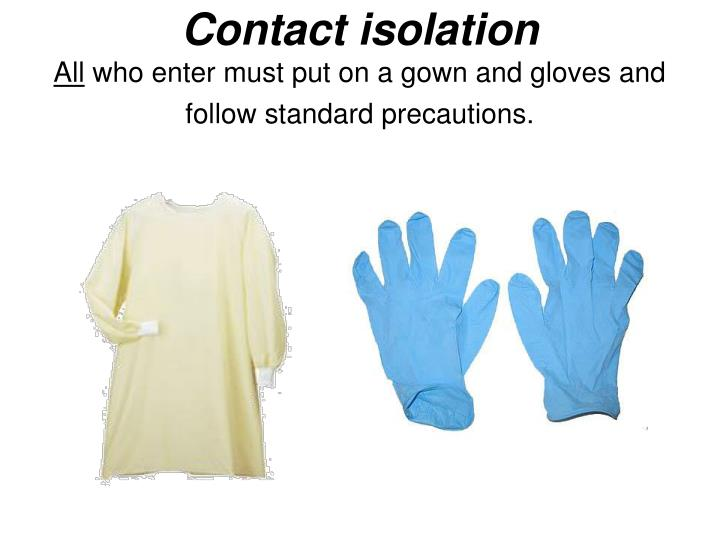 Image result for Learn Skill: Isolation Gown and Gloves