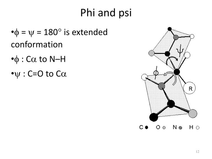 Phi and psi