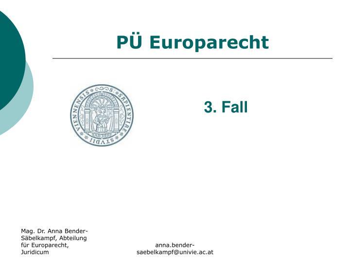 P europarecht