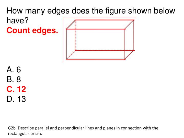 How many edges does the figure shown below have?