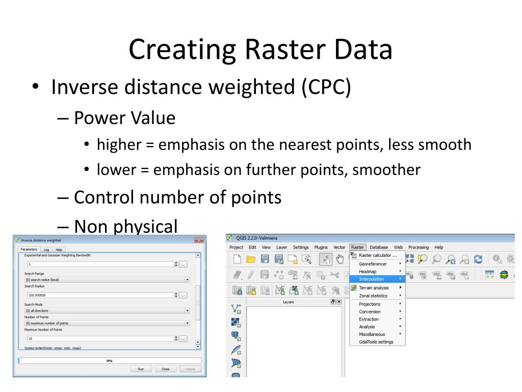 PPT - Raster Data in QGIS PowerPoint Presentation - ID:3584801