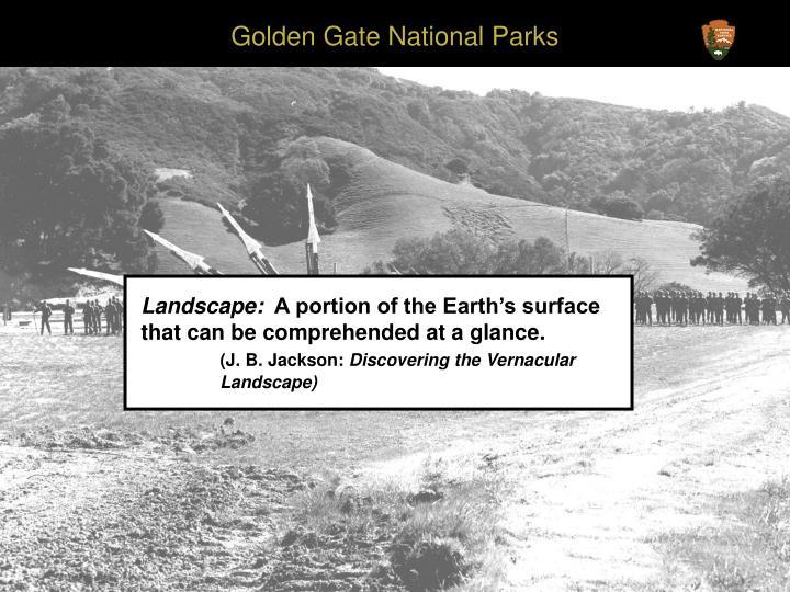 Golden Gate National Parks