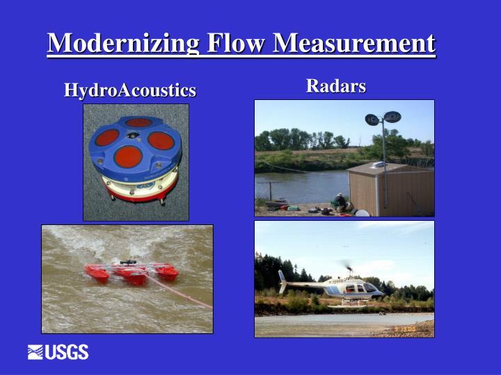 Modernizing Flow Measurement