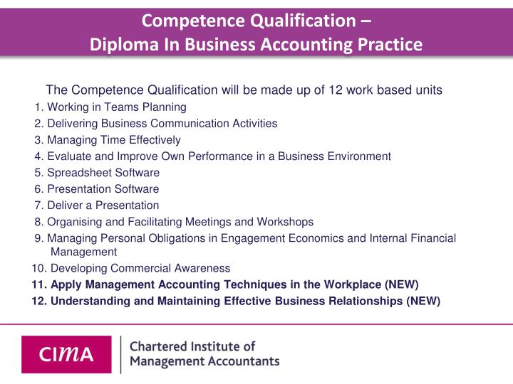 Competence Qualification –