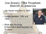 joe arpaio the toughest sheriff in america