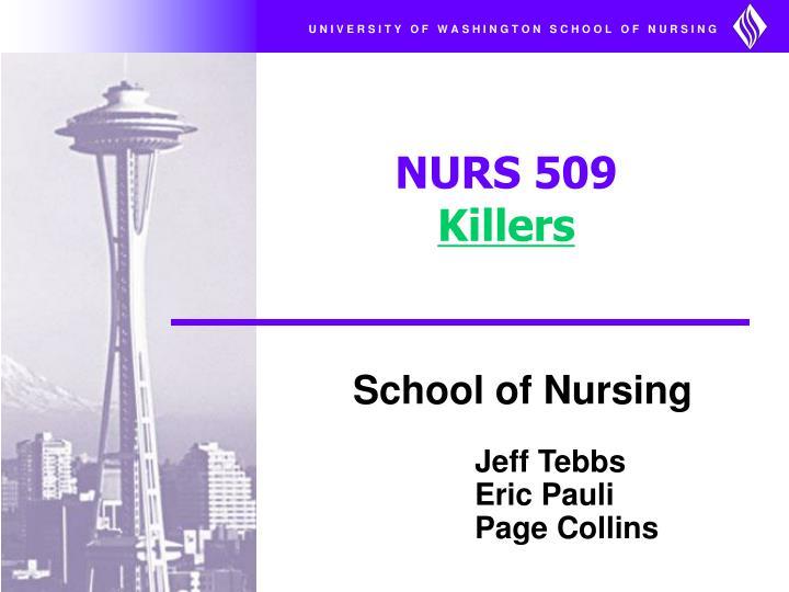 nurs 509 killers n.